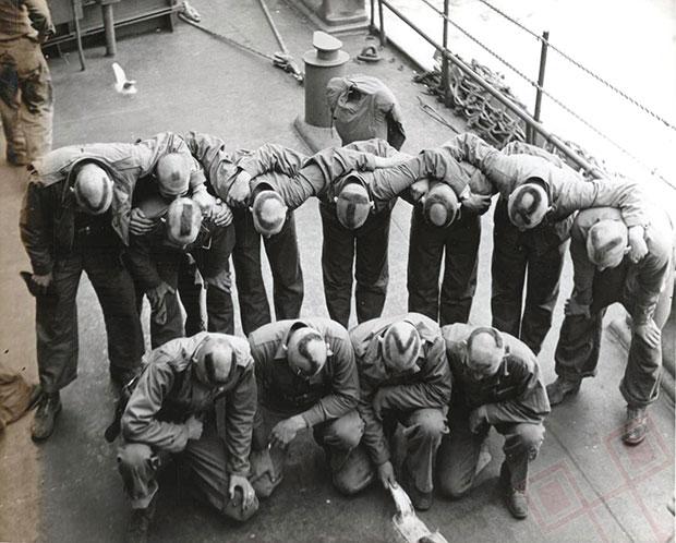 Pobjedničke frizure marinaca 1944. godine