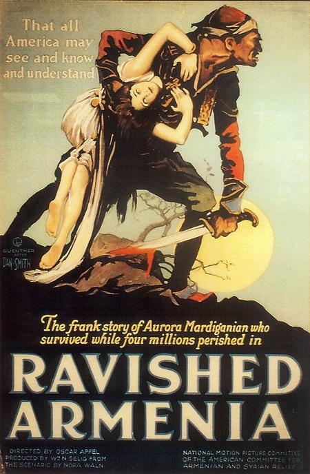 "Filmski plakat ""Ravished Armenia"""