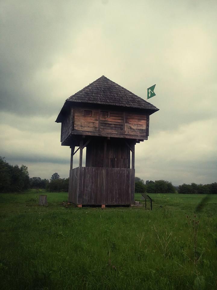 Rekonstrukcija stražarnice (kule) iz vremena Vojne krajine