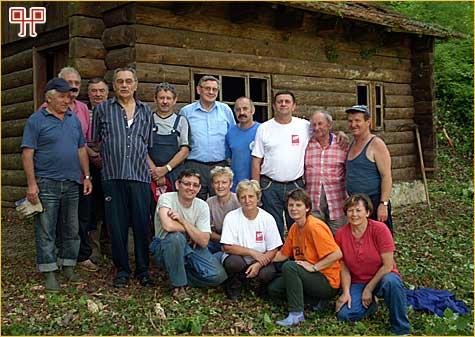 Prva radna akcija Ludbrežana 21.6.2008.