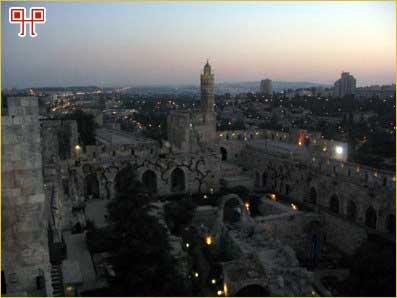 Pogled na Jeruzalem s Davidova tornja