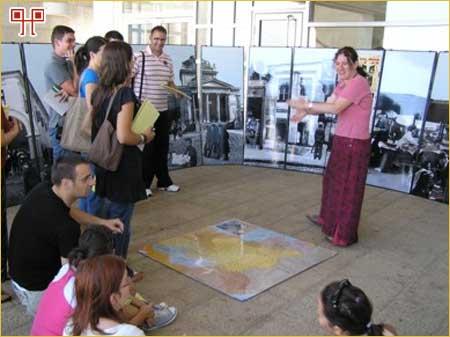 Detalj s predavanja u Muzeju Yad Vashem (Orit Margaliot drži predavanje)