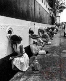 Oproštaj od mornara tijekom Drugog svjetskog rata