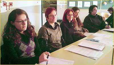 Županijsko povjerenstvo - Aleksandra Đurić, Višnja Matotek, Anita Škvorc, Sanja Špiranec i Sanja Drakulić