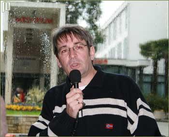 Vladimir Torbica - voditelj terenskog rada pete skupine