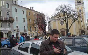 Nikola Slunjski je u Bujama 'kamerom uhvatio' autora članka