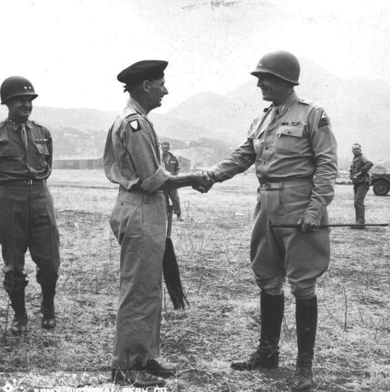 Rastanak Montyja i Pattona u Sirakuzi.