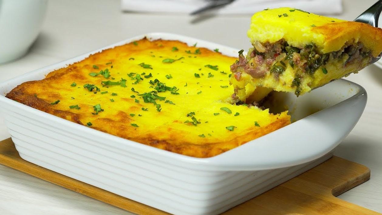 Картофельная запеканка с фаршем (3734)   Povkusu.com