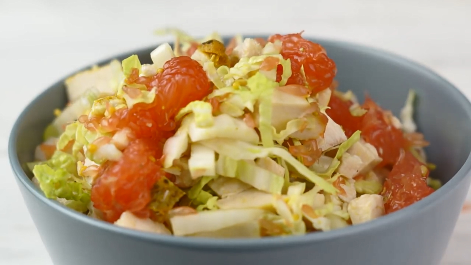 Салат с курицей и грейпфрутом (4775) | Povkusu.com