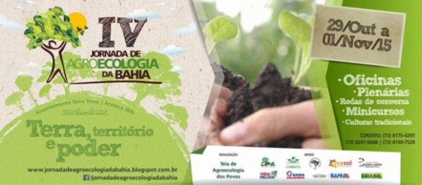 4a Jornada de Agroecologia da Bahia