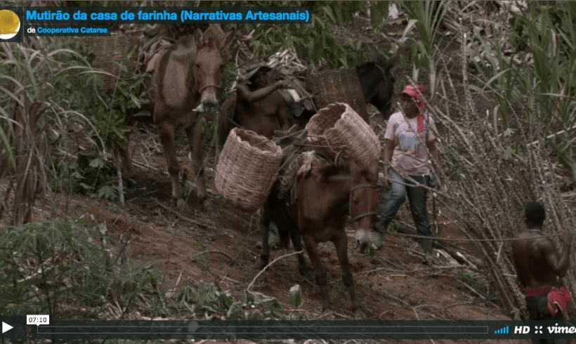 Narrativas Artesanais: Mutirão da casa de farinha