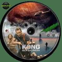 Kong Isla Calavera (2017) Label dvd R4