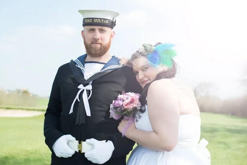 Sunny wedding