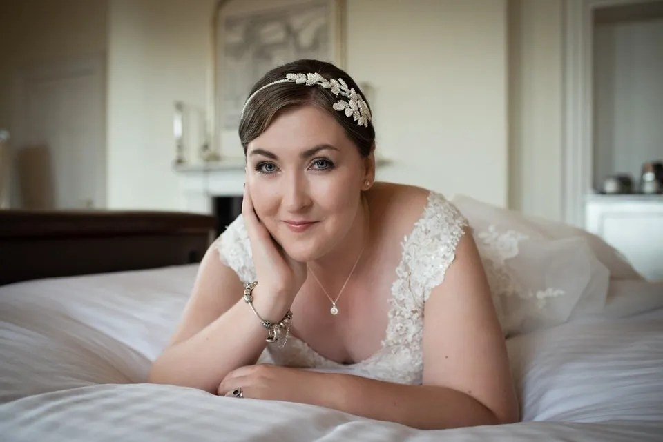 Wedding make up at Bailbrook House in Bath