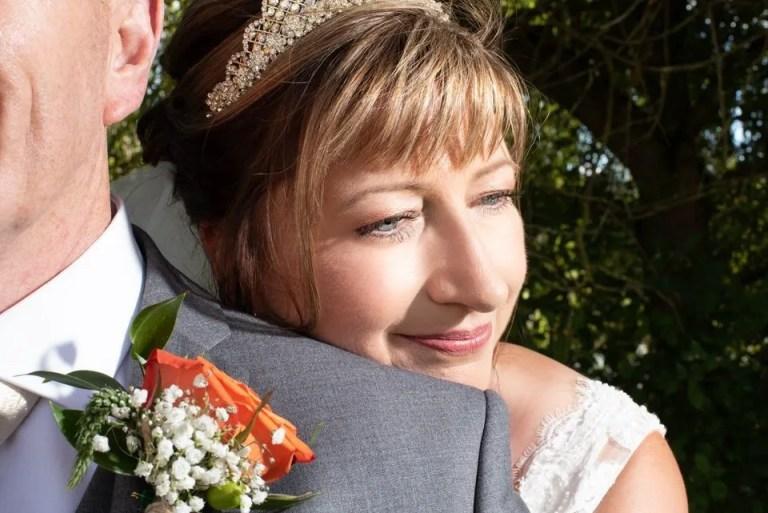 Bride and groom photos at Cumberwell Park wedding venue