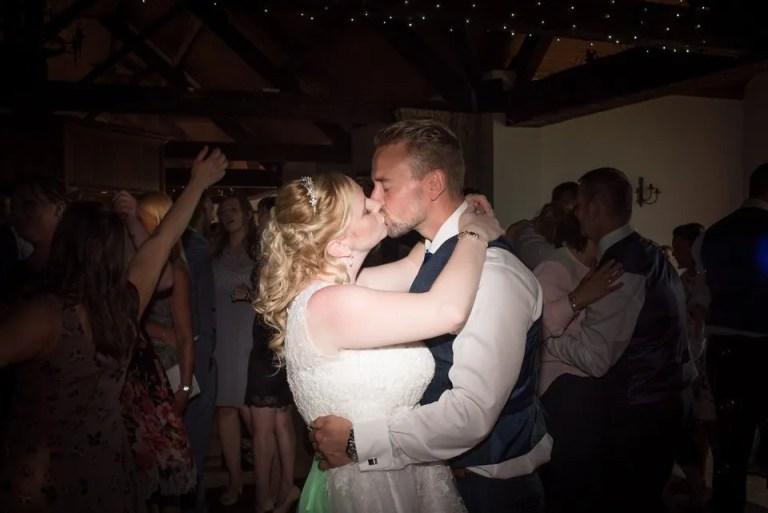 Wedding first dance at Cumberwell Park wedding venue