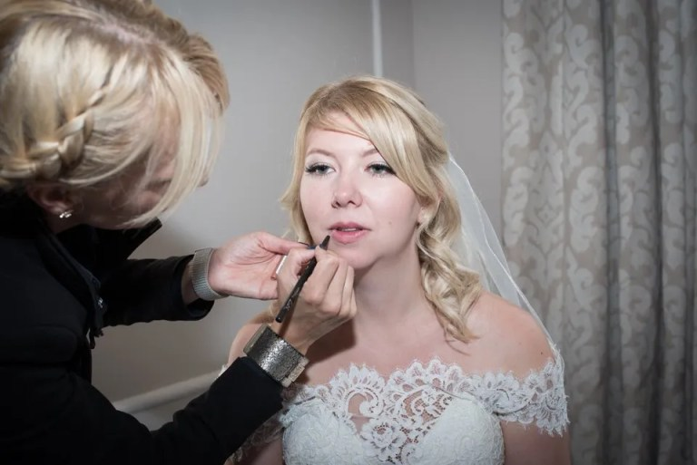 Eastwood Park Wedding makeup
