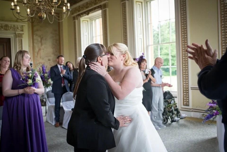 Brides on their Wedding Day at Leigh Court in Bristol