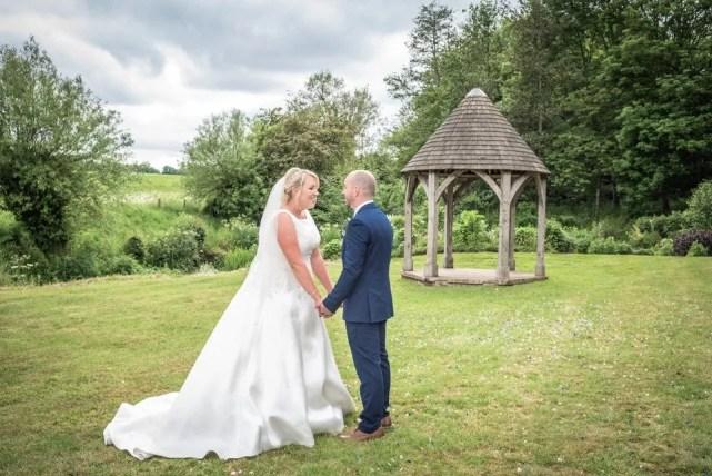 Priston mills wedding couple portrait