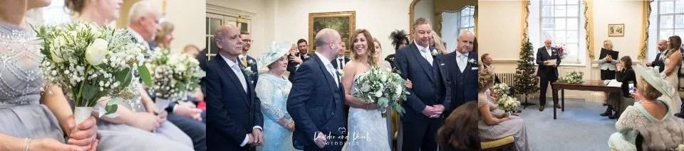 Bath guildhall wedding Abbey view room