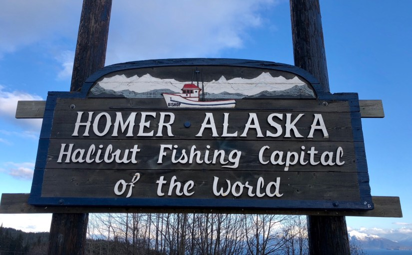 Feeling at home in Homer.