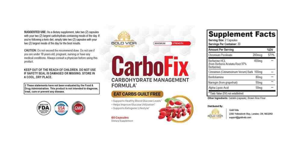 CarboFix-dosage