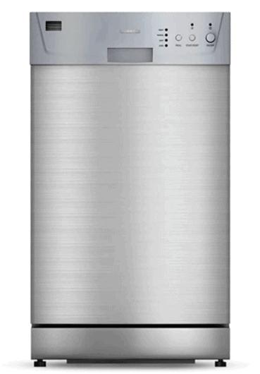 Furrion FDW18SAS-SS 18 inch Built-in RV Dishwasher