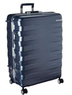 Samsonite Framelock Hardside Expandable Spinner wheels Checked large 28-inch Luggage
