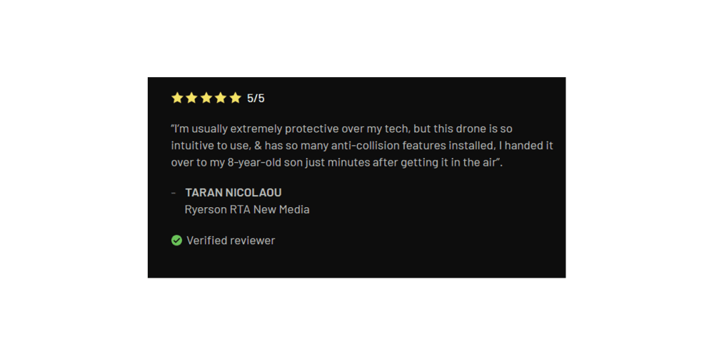 Drone X Pro customer reviews