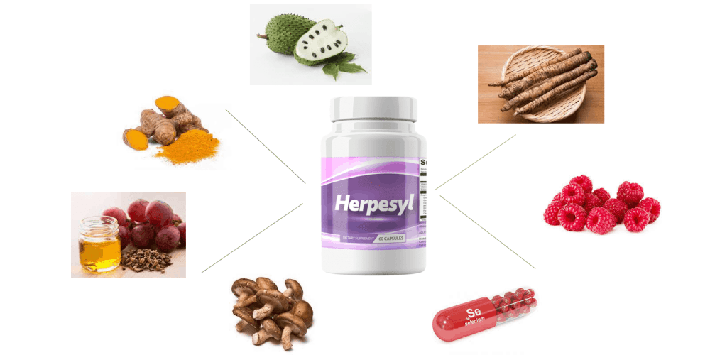 Herpesyl ingredients