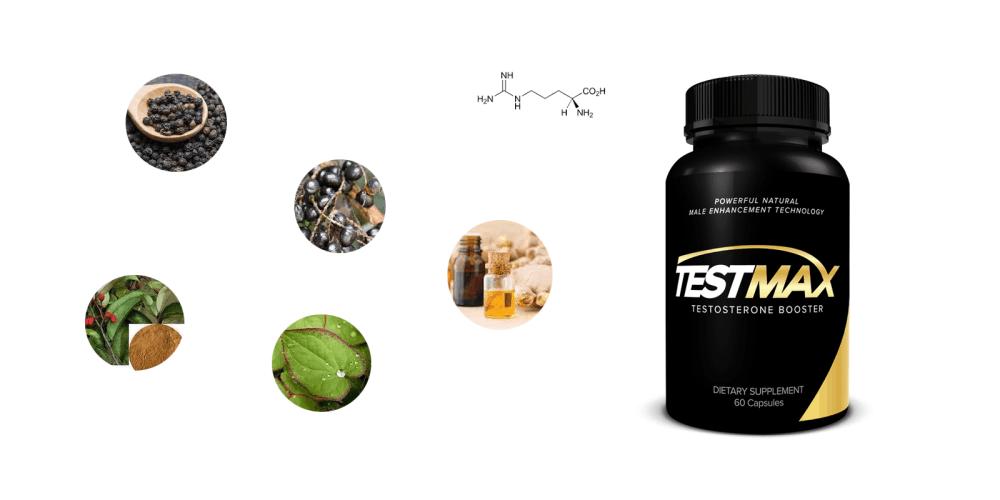 TestMax Booster ingredients