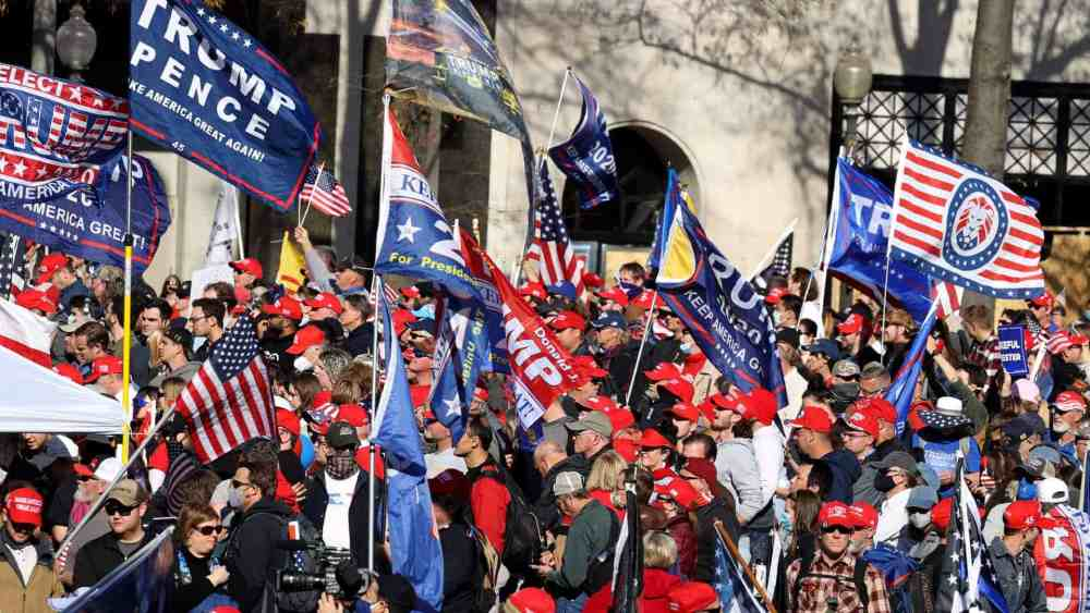 Trump Supporter's Washington Protests Become Aggressive