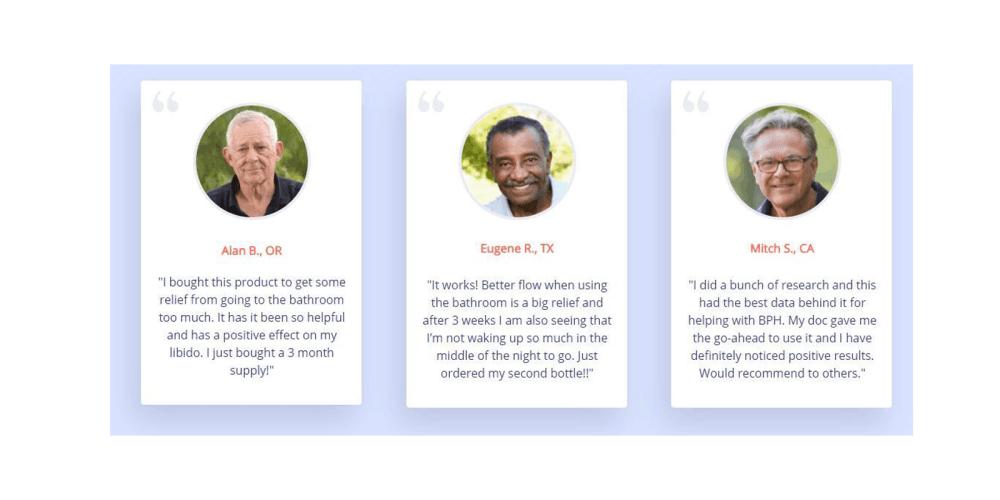 ProstateMD customer reviews