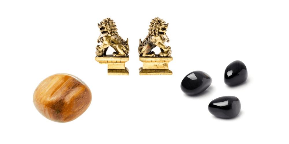 Magic Wealth & Success Obsidian objects