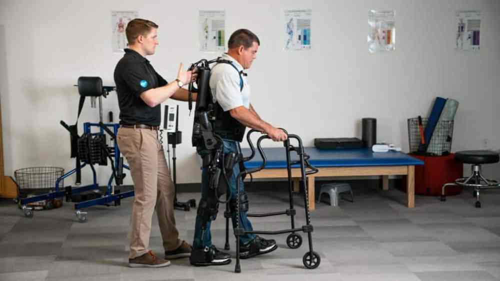 In Those With Spinal Cord Injuries, Exoskeleton-Assisted Walking May Help Bowel Function