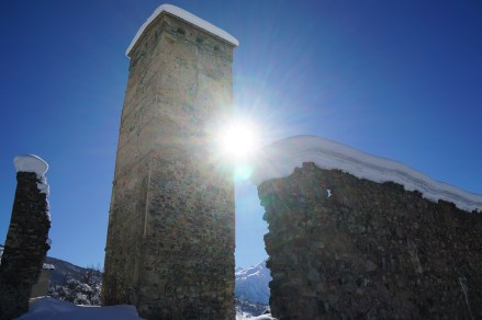 Typical Svaneti tower