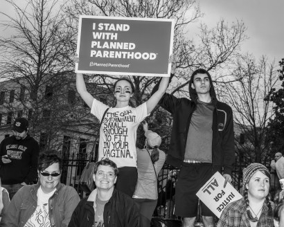 Where do you stand? Atlanta Women's March - Tiffany Powell Photography