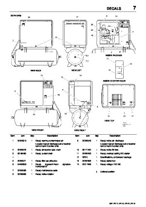 Ingersoll Rand SSR UP6 15 UP6 20 UP6 25 UP6 30 60Hz Air Compressor Maintenance Manual