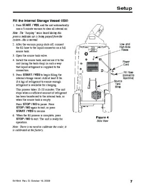 Robinair SPX RA C34788 Recovery Recycling Recharging Unit Owners Manual
