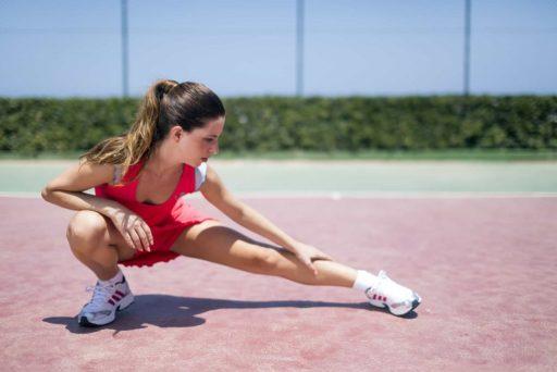 calentar antes de hacer ejercicio
