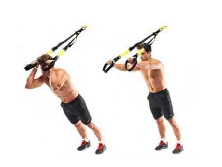 tríceps trx