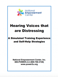Hearing Voices that are Distressing: A Simulated Training Experience and Self-Help Strategies