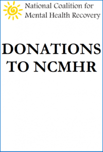 Donations to Support the National Coalition for Mental Health Recovery