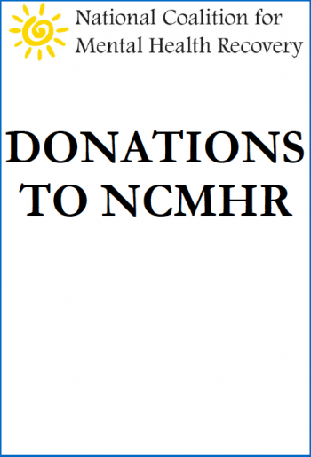 Donations To Support The National Coalition For Mental Health