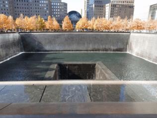 Memorial Pool, November 2015. Gary Hack