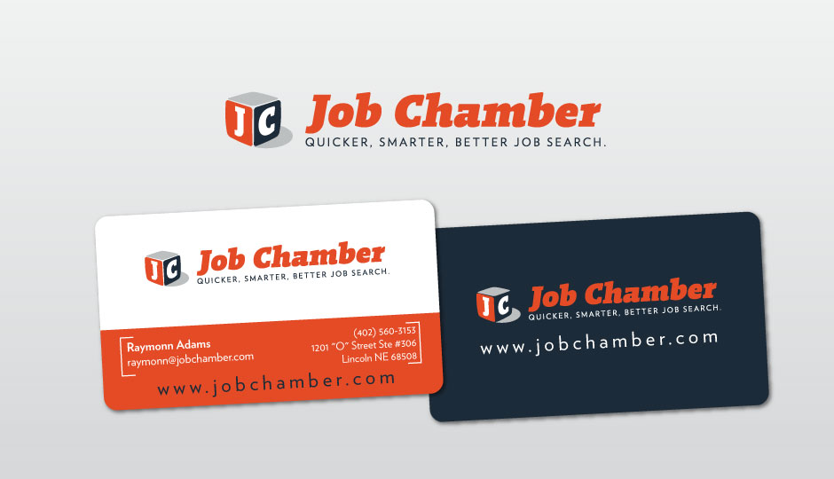 Fancy Job Search Business Cards Component - Business Card Ideas ...