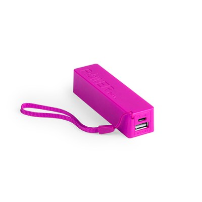 Power Bank Keox-fushia-2000-mAh