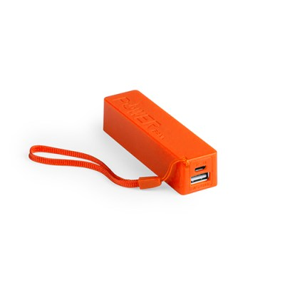 Power Bank Keox-orange-2000-mAh
