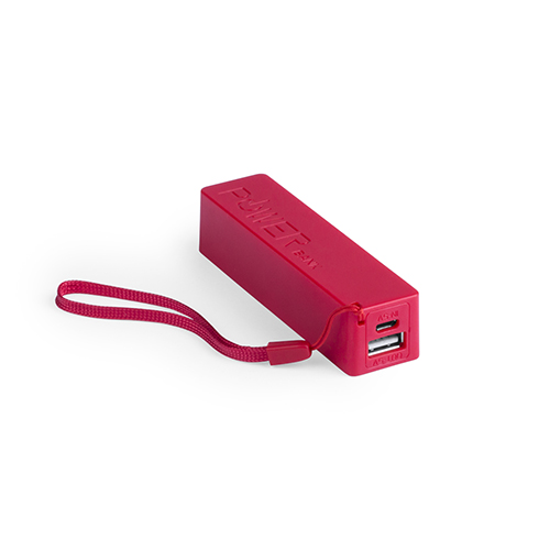 Power Bank Keox-rouge-2000-mAh