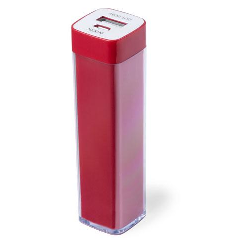 Power Bank Sirouk-rouge-2000-mAh